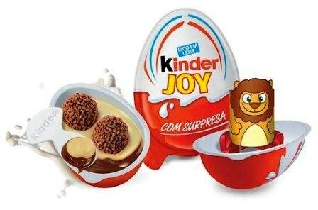 KINDER JOY CHOCOLATE (WITH SURPRISE) - 20 GM