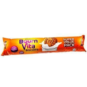 CADBURY BOURNVITA BISCUITS - SUPER VALUE PACK - 120 GM