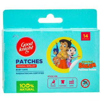 GOOD KNIGHT PATCHES BABY SAFE PERSONAL REPELLENT (CHOTA BHEEM) - 14 PATCHES