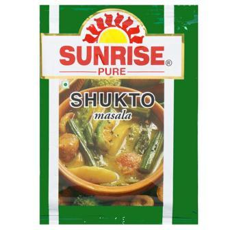 SUNRISE PURE SHUKTO SUKTO MASALA - 8 GM