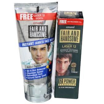 EMAMI FAIR & HANDSOME INSTANT FAIRNESS FACE WASH - 50 GM