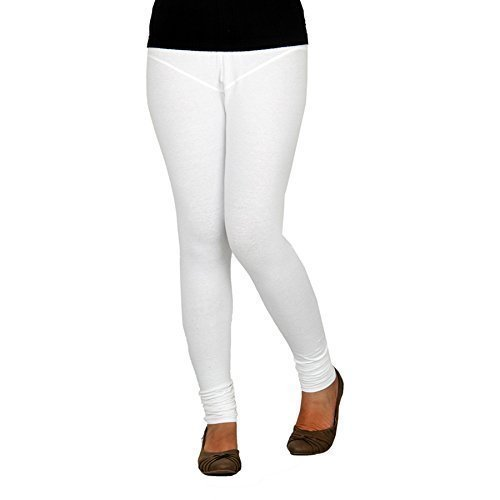 WHITE LEGGINGS - XXL - V CUT
