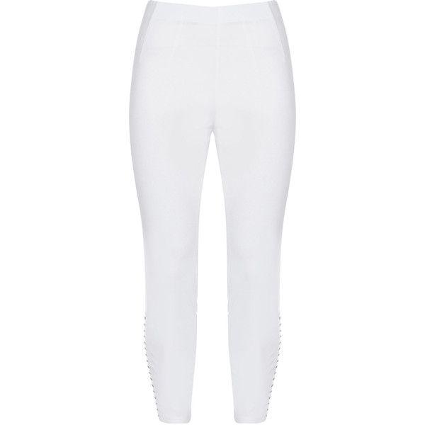 WHITE LEGGINGS - XL - C CUT