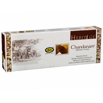 CYCLE HERITAGE CHANDANAM PRAYER INCENSE STICKS DHUPKATHI AGARBATTI - 225 GM PLUS 4 WOODS AGARBATTI FREE