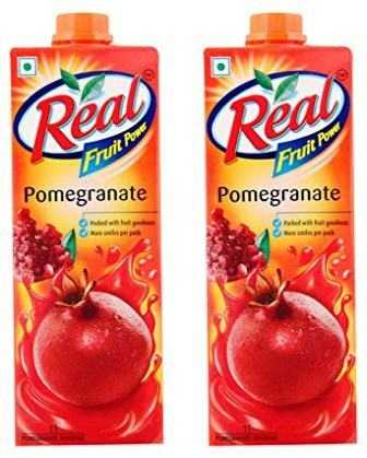 REAL FRUIT JUICE (POMEGRANATE) COMBO - 1 LTR X 2