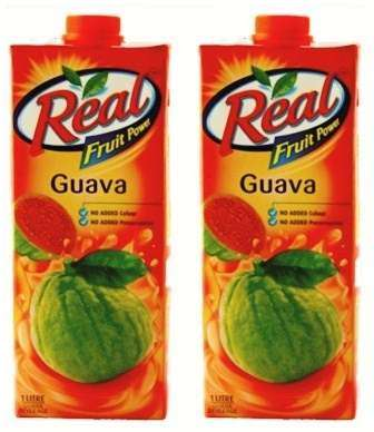 REAL FRUIT JUICE (GUAVA) COMBO - 1 LTR X 2