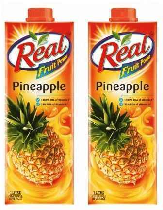REAL FRUIT JUICE (PINEAPPLE) COMBO - 1 LTR X 2