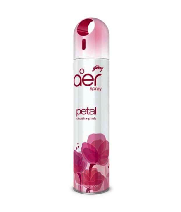 GODREJ AER ROOM FRESHENER - PETAL CRUSH PINK - 270 ML