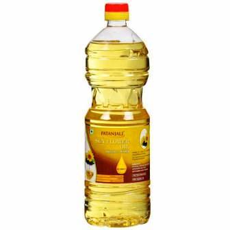 PATANJALI SUNFLOWER OIL BOTTLE - 1 LTR