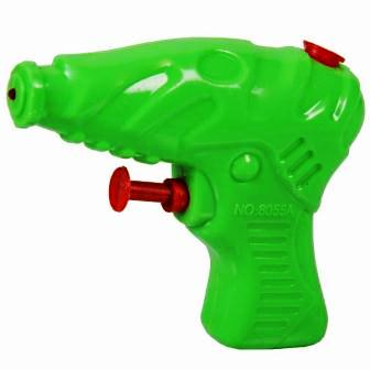 SMALL WATER GUN - GREEN - 1 PC