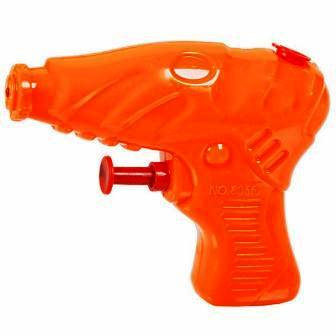 SMALL WATER GUN - ORANGE - 1 PC