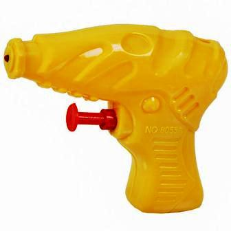 SMALL WATER GUN - YELLOW - 1 PC