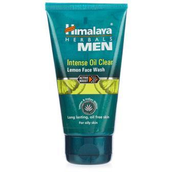HIMALAYA MEN INTENSE OIL CLEAR LEMON FACE WASH - 50 ML