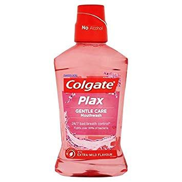 COLGATE PLAX GENTLE CARE MOUTH WASH - 250 ML