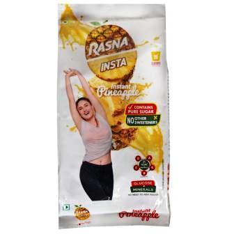 RASNA INSTA - INSTANT PINEAPPLE REFILL - 500 GM