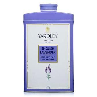 YARDLEY LONDON ENGLISH LAVENDER PERFUMED TALC - 100 GM