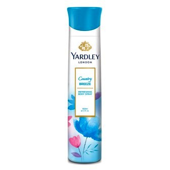 YARDLEY LONDON COUNTRY BREEZE BODY SPRAY DEODORANT - 150 ML