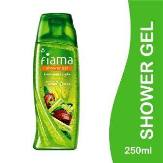 FIAMA SHOWER GEL - LEMONGRASS & JOJOBA - 250 ML