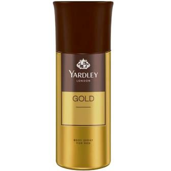 YARDLEY LONDON GOLD BODY SPRAY DEODORANT - 150 ML