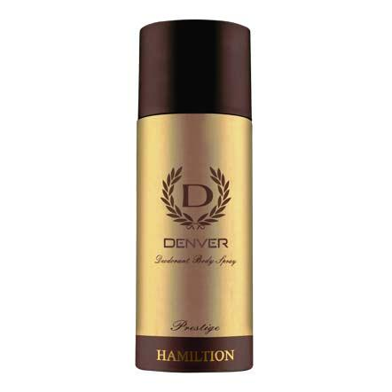 DENVER PRESTIGE HAMILTON BODY SPRAY DEODORANT - 165 ML