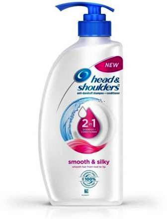 HEAD & SHOULDER 2 IN 1 ANTI DANDRUFF SHAMPOO PLUS CONDITIONER - SMOOTH & SILKY - 675 ML