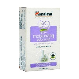 HIMALAYA EXTRA MOISTURIZING BABY SOAP - 75 GM