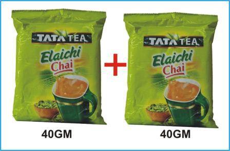 TATA TEA ELAICHI CHAI - 40 GM X 2 PKT