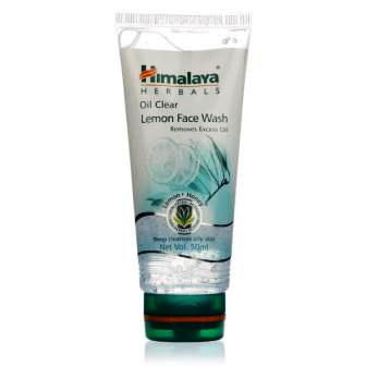 HIMALAYA OIL CLEAR LEMON FACE WASH - 50 ML