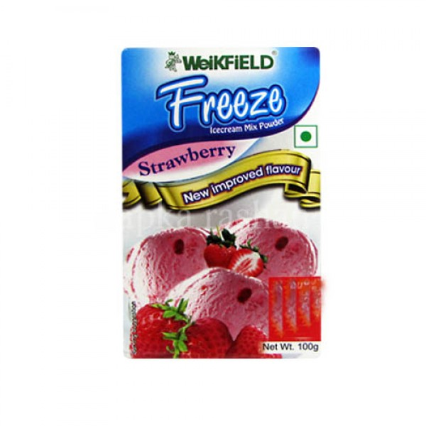 WEIKFIELD FREEZE ICECREAM - STRAWBERRY - 100G