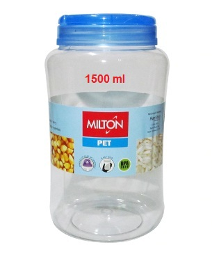 Milton Crisp And Clear Round 1500 ML Container Pet Jar