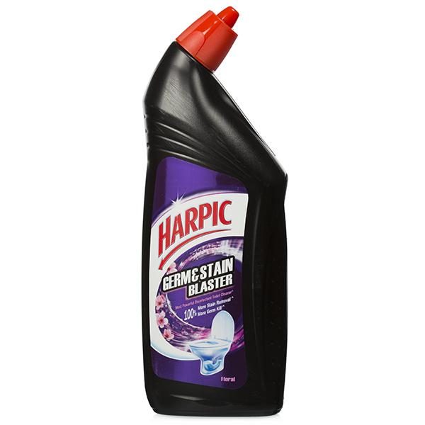 HARPIC GERM STAIN BLASTER FLORAL TOILET CLEANER - 750 ML
