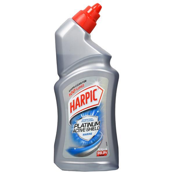 HARPIC PLATINUM ACTIVE SHIELD MARINE TOILET CLEANER - 500 ML