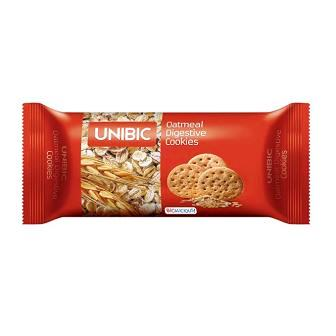 UNIBIC DIGESTIVE OATMEAL COOKIES BISCUIT - 150 GM