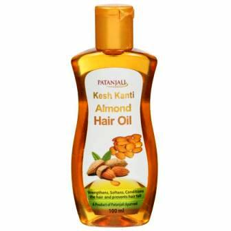 PATANJALI KESH KANTI ALMOND HAIR OIL - 100 ML
