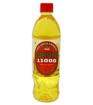 DRUK LIME JUICE CORDIAL - 700 ML