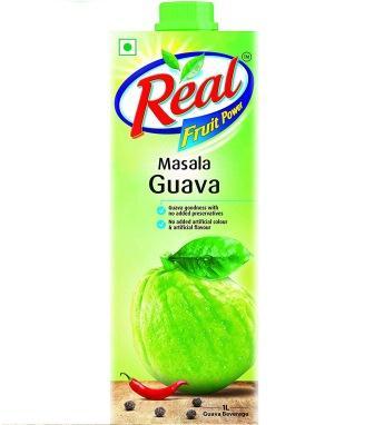 REAL MASALA GUAVA JUICE - 1LTR