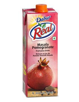 REAL MASALA POMEGRANATE JUICE - 1 LTR