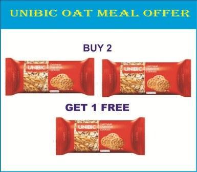 UNIBIC OAT COOKIES - BUY 2 GET 1 FREE