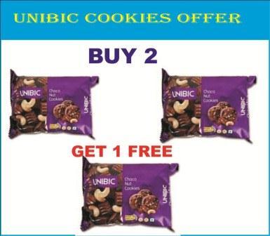 UNIBIC CHOCONUT COOKIES BUY 2 GET 1