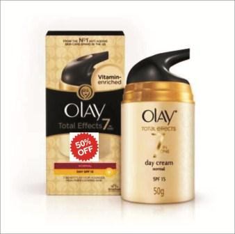 OLAY 7 IN ONE ANTI AGEING CREAM SPF15 - 50 GM