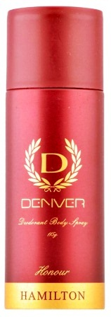 DENVER HONOUR HAMILTON BODY SPRAY DEODORANT - 165 ML