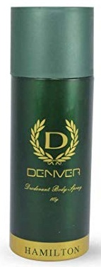 DENVER HAMILTON BODY SPRAY DEODORANT - 165 ML
