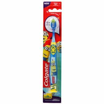COLGATE KIDS MINIONS EXTRA SOFT TOOTHBRUSH (5 YRS PLUS) - 1 PC