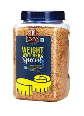 INDIA GATE BROWN RICE (JAR) - WEIGHT WATCHERS SPECIAL - 1 KG