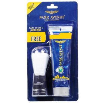 PARK AVENUE SHAVING CREAM - 60 GM PLUS FREE SHAVING BRUSH