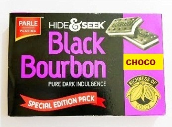 PARLE HIDE & SEEK BLACK BOURBON CHOCOLATE - SPECIAL EDITION - 300 GM