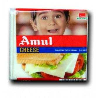 AMUL CHEESE SLICES - 200 GM
