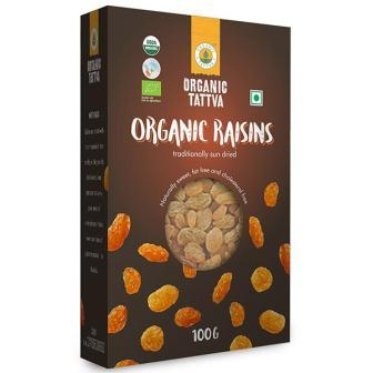 ORGANIC TATTVA KISMIS RAISINS - 100 GM