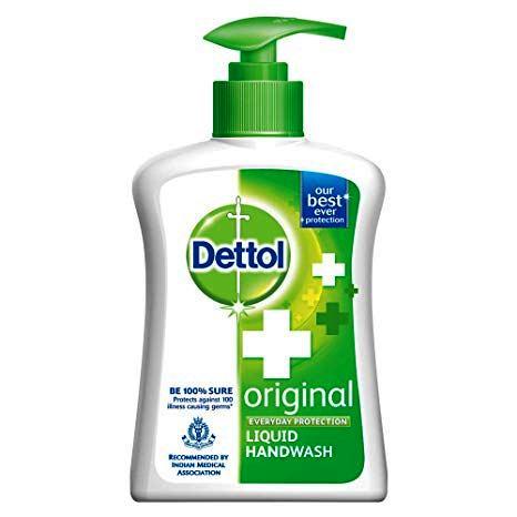 DETTOL HAND WASH BOTTLE - 250 ML