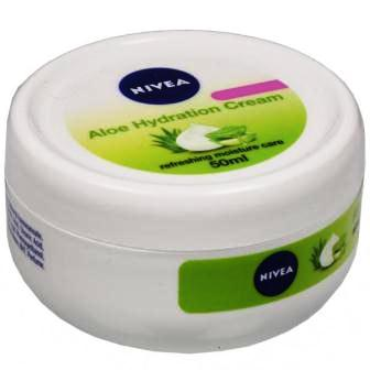 NIVEA ALOE HYDRATION CREAM MOISTURISER - 50 ML
